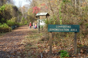 Compost site sign